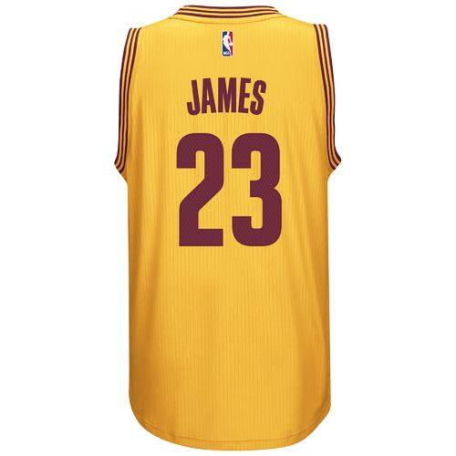 adidas™ Adults' Cleveland Cavaliers LeBron James #23 Swingman Jersey
