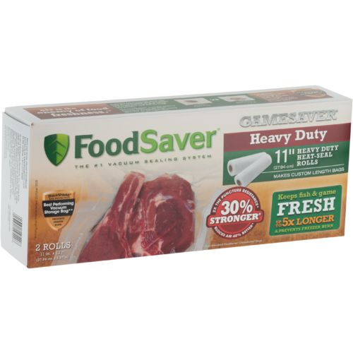 FoodSaver® GameSaver® Heavy-Duty Heat-Seal Gallon Rolls 2-Pack - view number 1