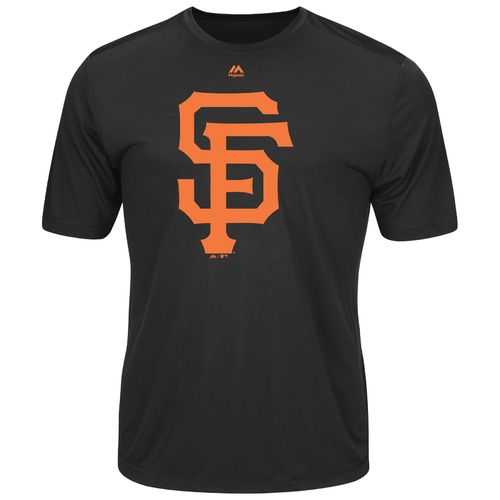 Majestic Men's San Francisco Giants Synthetic Official Logo T-shirt