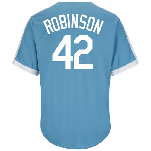 Majestic Men's Brooklyn Dodgers Jackie Robinson #42 Cooperstown Cool Base® 1941-57 Replica