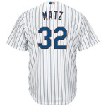 Majestic Men's New York Mets Steven Matz #32 Cool Base Replica Jersey - view number 1