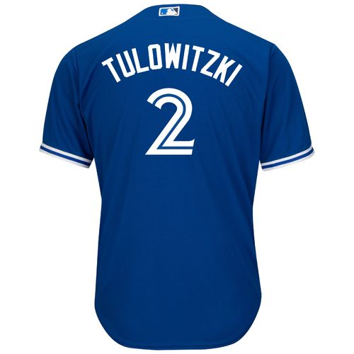 Majestic Men's Toronto Blue Jays Troy Tulowitzki #2 Cool Base Replica Jersey