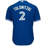 Majestic Men's Toronto Blue Jays Troy Tulowitzki #2 Cool Base Replica Jersey - view number 1