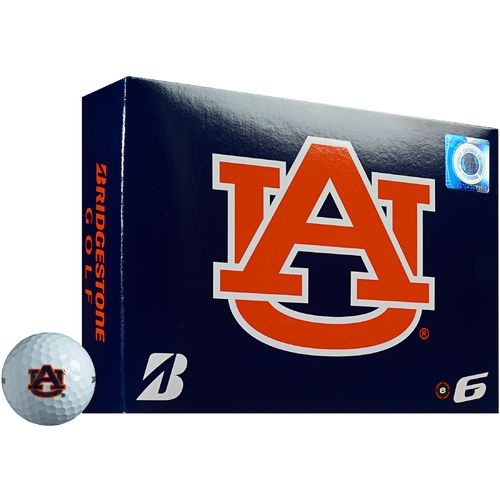 Bridgestone Golf Auburn University e6 Golf Balls 12-Pack