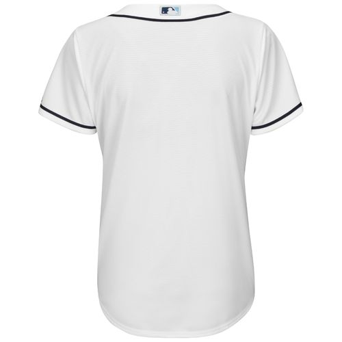Majestic Women's Tampa Bay Rays Cool Base Replica Home Jersey - view number 2
