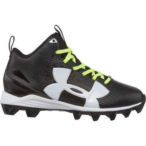 Under Armour Boys' Crusher RM Jr. Wide Football Cleats