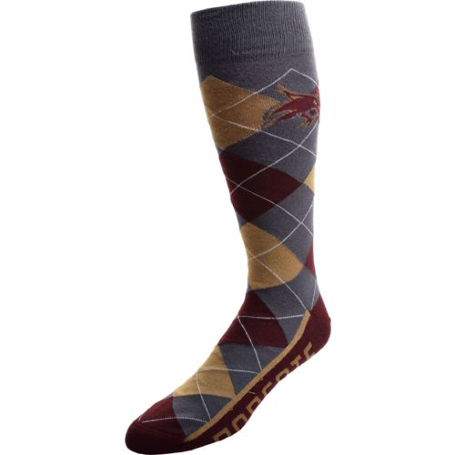 FBF Originals Men's Texas State University Argyle Zoom Dress Socks