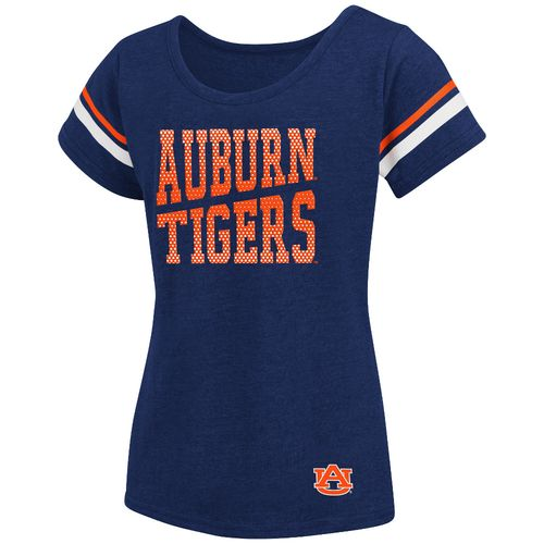 Colosseum Athletics™ Girls' Auburn University Fading Dot T-shirt - view number 1