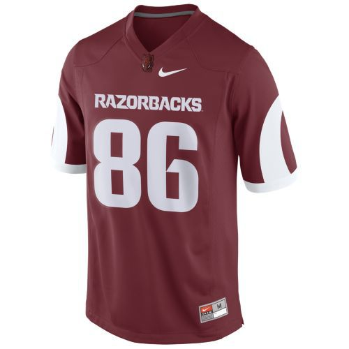 Nike Men's University of Arkansas Game Jersey