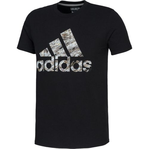 adidas™ Men's Chromaflage Diamond Badge of Sport T-shirt
