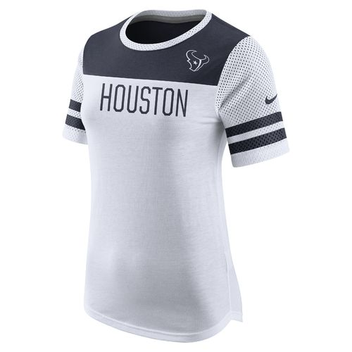 Nike Women's Houston Texans Champ Drive Mod Fan Top