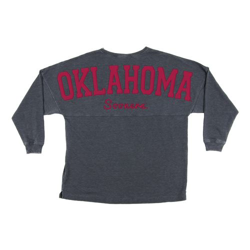 Chicka-d Women's University of Oklahoma French Terry Varsity Jersey