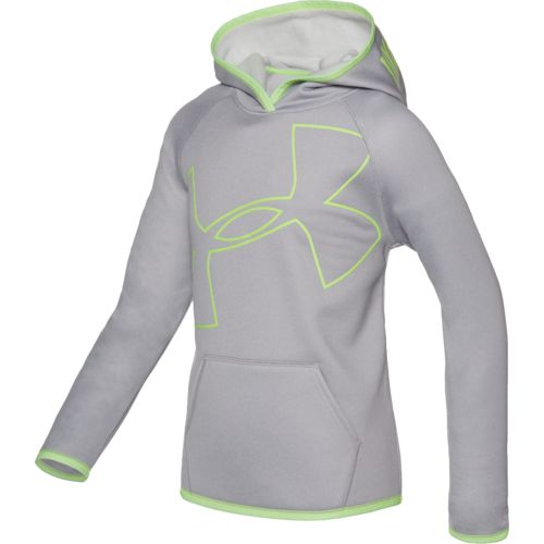 Under Armour Girls' Storm Armour Fleece Novelty Big Logo Hoodie - view number 1
