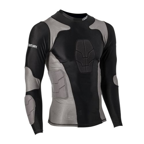 Century® Men's Long Sleeve Padded Compression Shirt