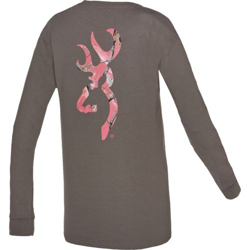Display product reviews for Browning Women's MO Country Buckheart T-shirt