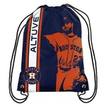 Forever Collectibles™ Houston José Altuve #27 Drawstring Backpack