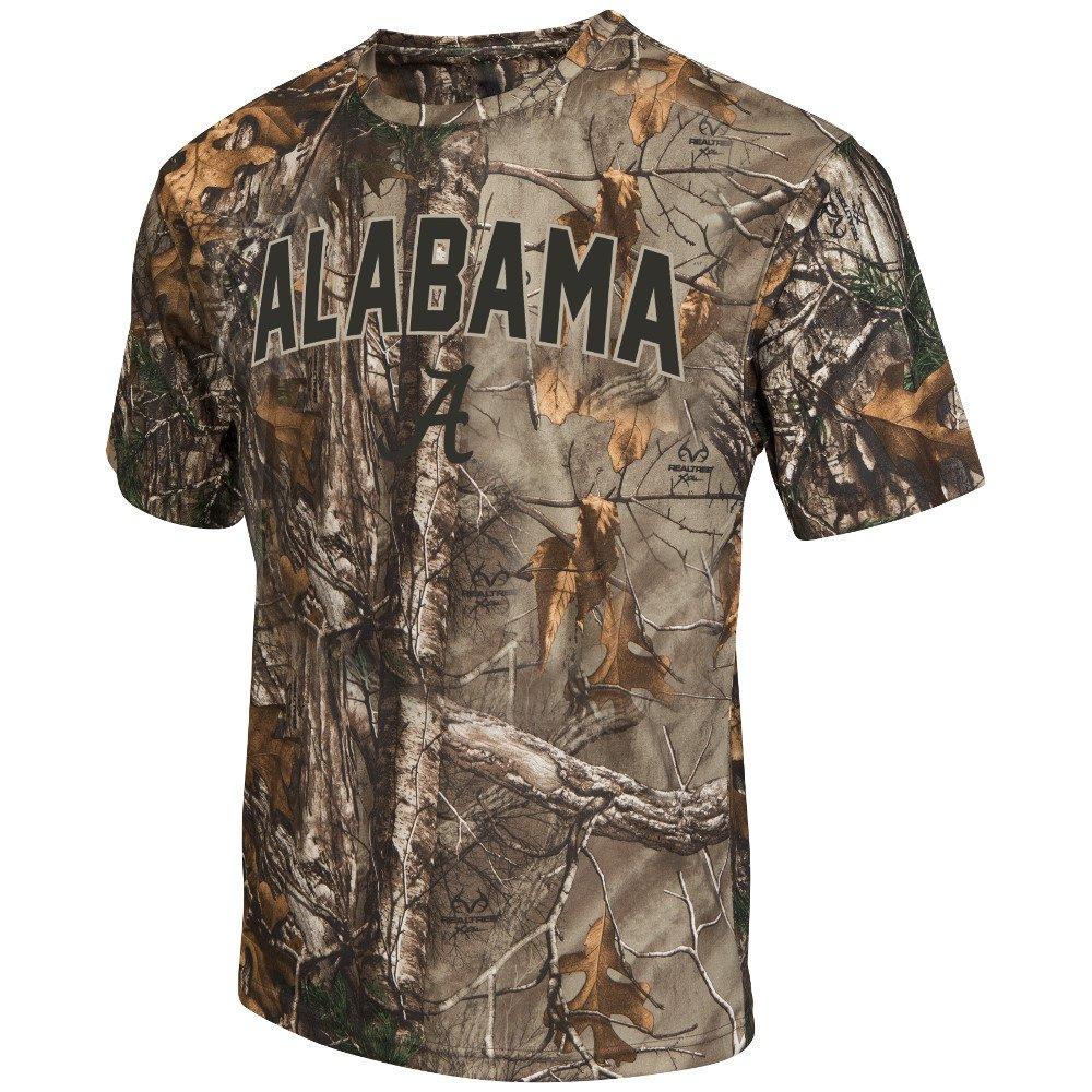 Display product reviews for Colosseum Athletics™ Men's University of Alabama Camo Brow Tine T-shirt