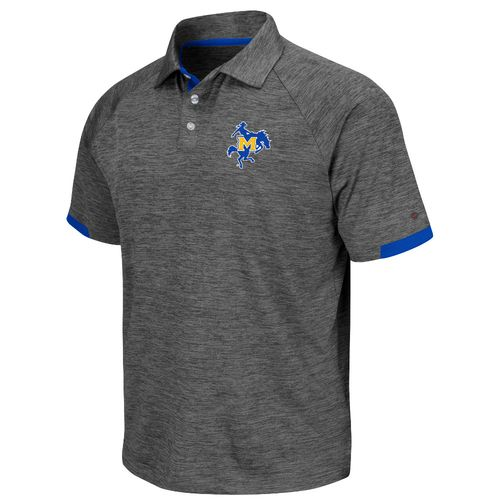 Colosseum Athletics Men's McNeese State University Spiral Polo Shirt