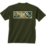 New World Graphics Women's Baylor University Madras T-shirt