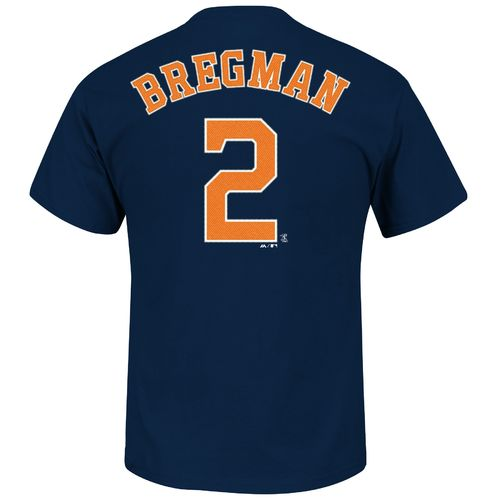 Majestic Men's Houston Astros Alex Bregman #2 T-shirt