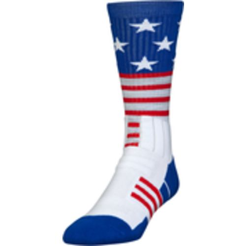 Under Armour Men's Unrivaled Stars and Stripes Crew Socks