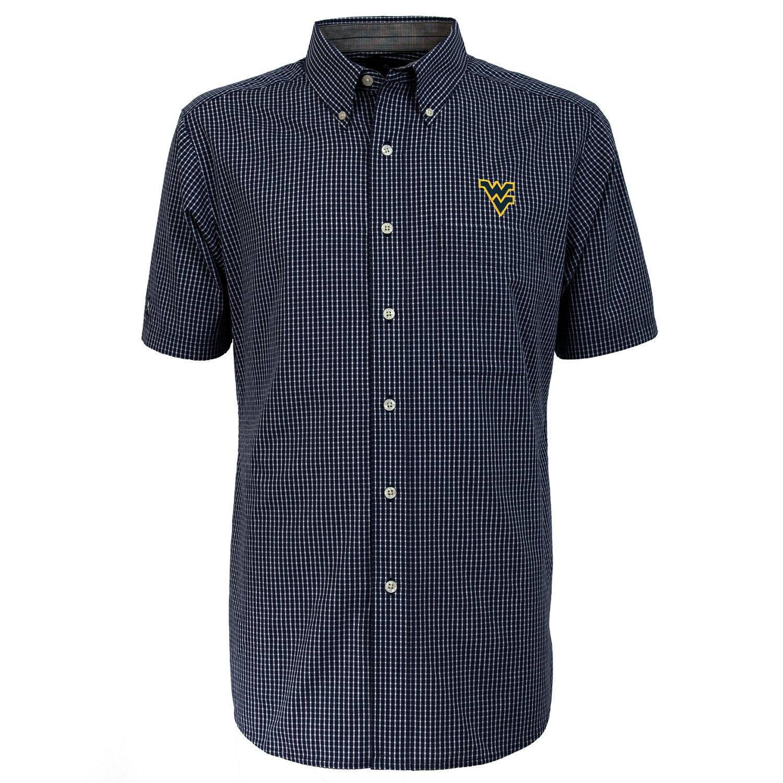 Antigua Men's West Virginia University League Short Sleeve Shirt - view number 2