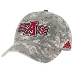 adidas™ Men's Arkansas State University Digital Camo Adjustable Slouch Cap