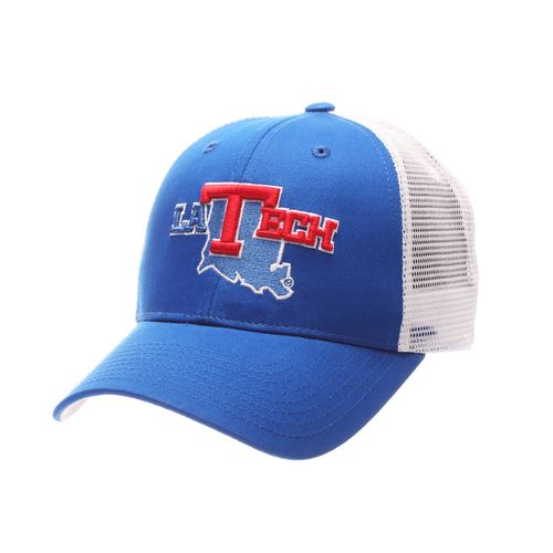 Zephyr Men's Louisiana Tech University Big Rig Meshback Cap - view number 1