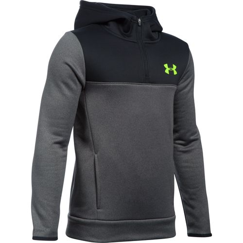 Under Armour™ Boys' Storm Armour® Fleece 1/4 Zip Hoodie