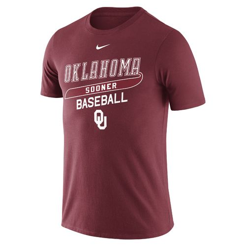 Nike Men's University of Oklahoma CTN Script T-shirt