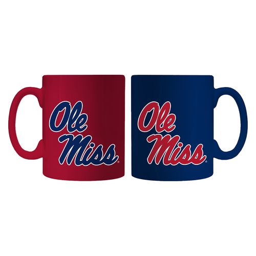 Boelter Brands University of Mississippi Home and Away Mug Set