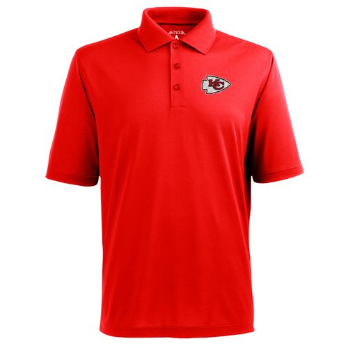 Antigua Men's Kansas City Chiefs Piqué Xtra Lite Polo Shirt