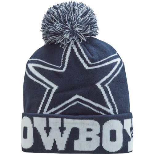 New Era Men's Dallas Cowboys Colossal Team Knit Hat