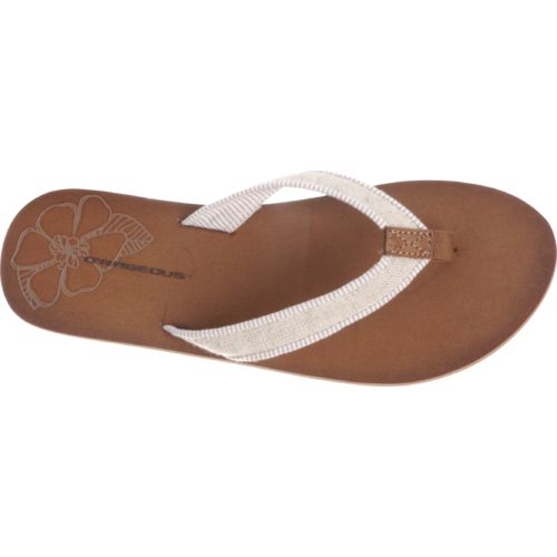 O'Rageous Women's Piped Strap Sandals - view number 4