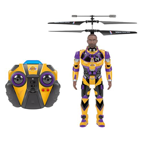 World Tech Toys Los Angeles Lakers Kobe Bryant Robojam RC Helicopter