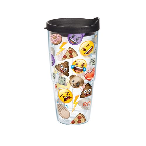 Tervis Emoji All Over 24 oz. Tumbler with Lid