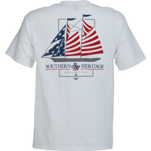 Southern Heritage Men's America Sail T-shirt - view number 1