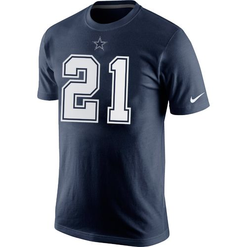 Nike Men's Dallas Cowboys Ezekiel Elliott 15 T-shirt - view number 2