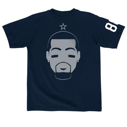 Dallas Cowboys Youth Dez Bryant Simple Face T-shirt