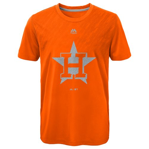 MLB Boys' Houston Astros Geo Fuse Fade T-shirt