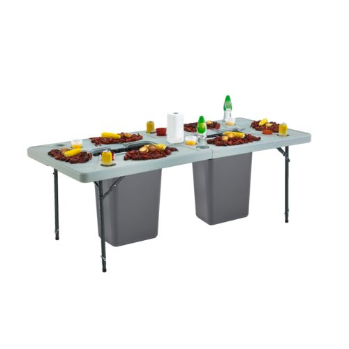 Academy Sports + Outdoors 7 ft Folding Cookout Table - view number 5