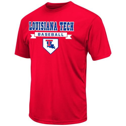 Colosseum Athletics™ Men's Louisiana Tech University Baseball T-shirt