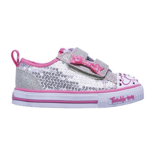 SKECHERS Toddlers' Twinkle Toes Shuffles Itsy Bitsy Casual Shoes