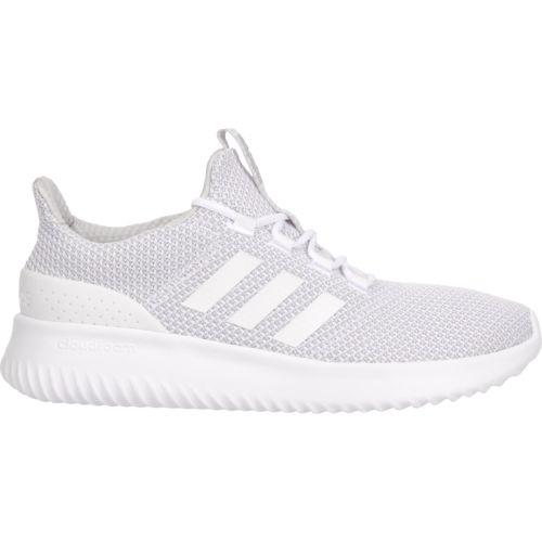 adidas cloudfoam white trainers