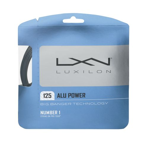 Wilson Luxilon ALU Power 16 Gauge Tennis Racquet String Set
