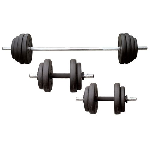 Sunny Health & Fitness 100 lbs Vinyl Weight Set