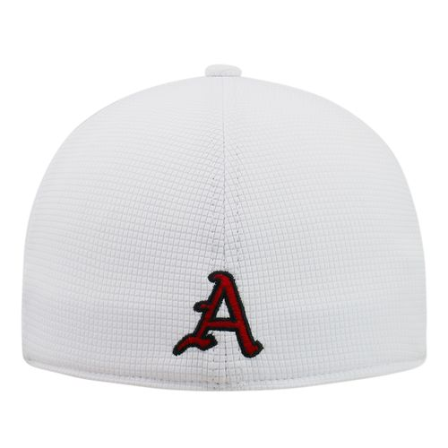 Top of the World Men's University of Arkansas Booster Plus Flex Cap - view number 2