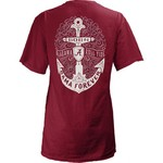 Three Squared Juniors' University of Alabama Anchor Flourish V-neck T-shirt - view number 1