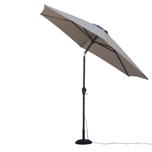Quik Shade Ultra Brite Outdoor Cool Lighted Patio Umbrella - view number 3