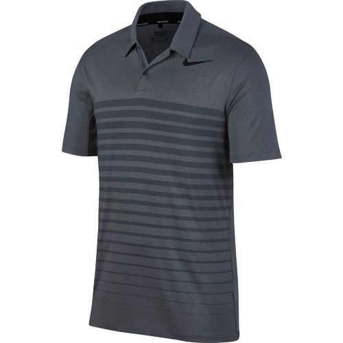 Nike Men's Dry Heather Stripe Golf Polo Shirt